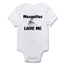 Mosquitos Love Me Infant Bodysuit