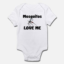 Mosquitos Love Me Infant Bodysuit
