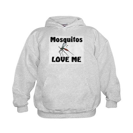 Mosquitos Love Me Kids Hoodie