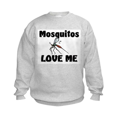 Mosquitos Love Me Kids Sweatshirt