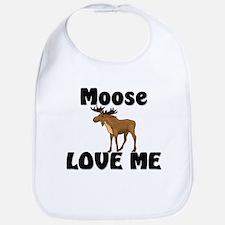 Moose Love Me Bib