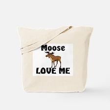 Moose Love Me Tote Bag