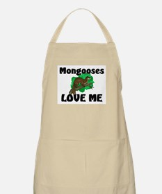 Mongooses Love Me BBQ Apron