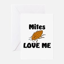 Mites Love Me Greeting Cards (Pk of 10)