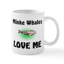 Minke Whales Love Me Mug