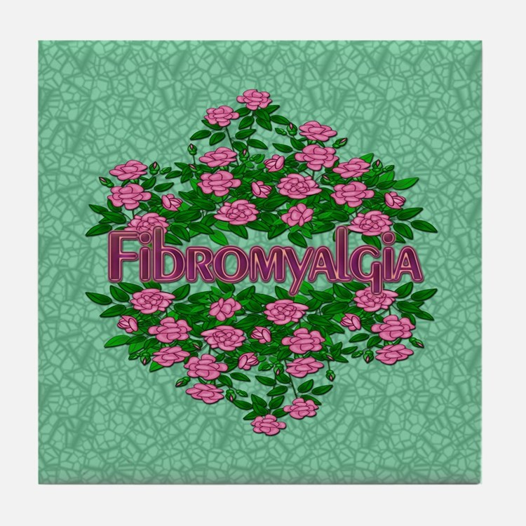 Fibromyalgia Its Real Tile Coaster