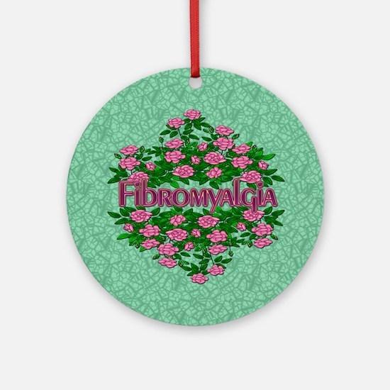 Fibromyalgia Its Real Ornament (Round)