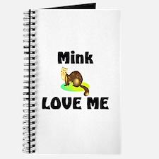 Mink Love Me Journal