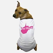 Pink West Virginia Dog T-Shirt