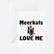 Meerkats Love Me Greeting Cards (Pk of 10)