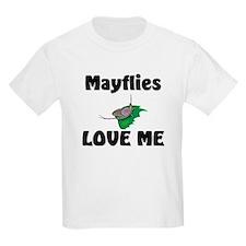 Mayflies Love Me Kids Light T-Shirt