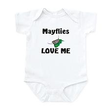 Mayflies Love Me Infant Bodysuit