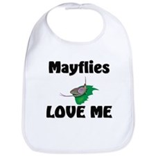 Mayflies Love Me Bib