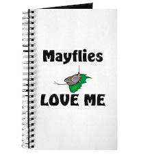 Mayflies Love Me Journal