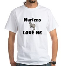 Martens Love Me White T-Shirt