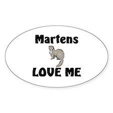 Martens Love Me Oval Sticker