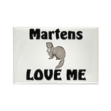 Martens Love Me Rectangle Magnet