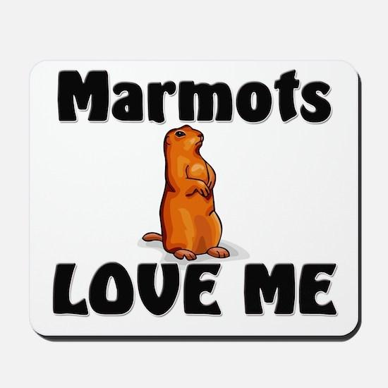 Marmots Love Me Mousepad