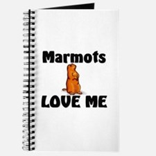 Marmots Love Me Journal