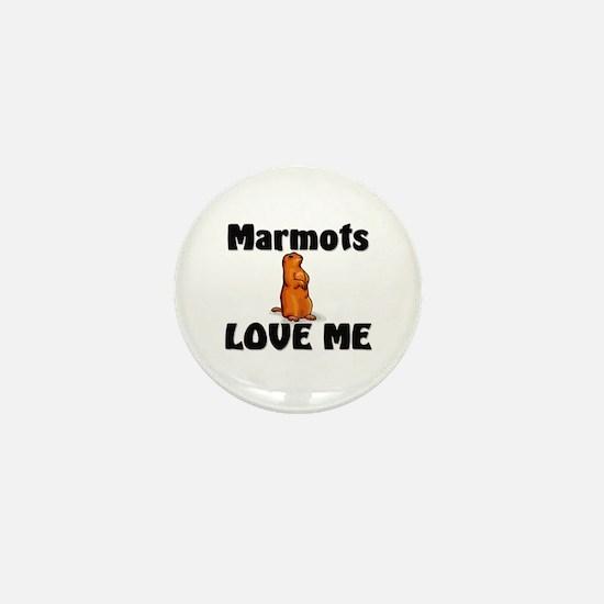 Marmots Love Me Mini Button