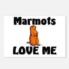 Marmots Love Me Postcards (Package of 8)
