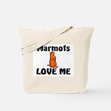 Marmots Love Me Tote Bag