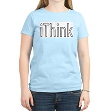 iThink Women's Pink T-Shirt