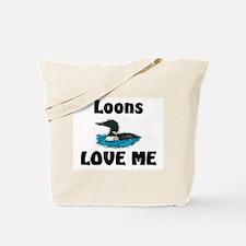 Loons Love Me Tote Bag