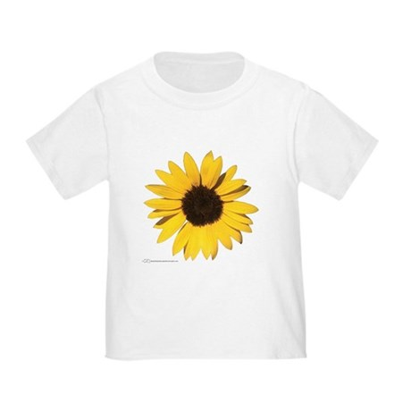 """Big Sunflower!"" Toddler T-Shirt"
