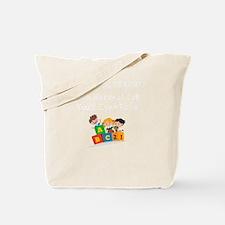 Cute Preschool teacher Tote Bag