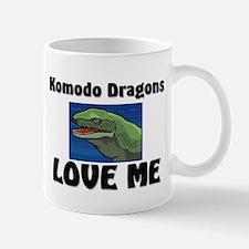 Komodo Dragons Love Me Mug