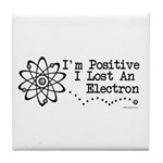 Positive Electron Tile Coaster