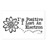 Positive Electron Postcards (Package of 8)
