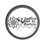Positive Electron Wall Clock