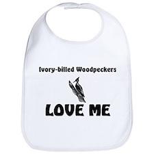 Ivory-Billed Woodpeckers Love Me Bib