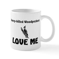 Ivory-Billed Woodpeckers Love Me Mug