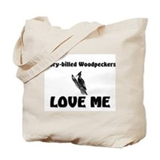 Ivory-Billed Woodpeckers Love Me Tote Bag