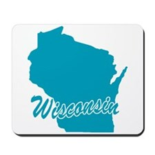 State Wisconsin Mousepad