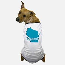 State Wisconsin Dog T-Shirt
