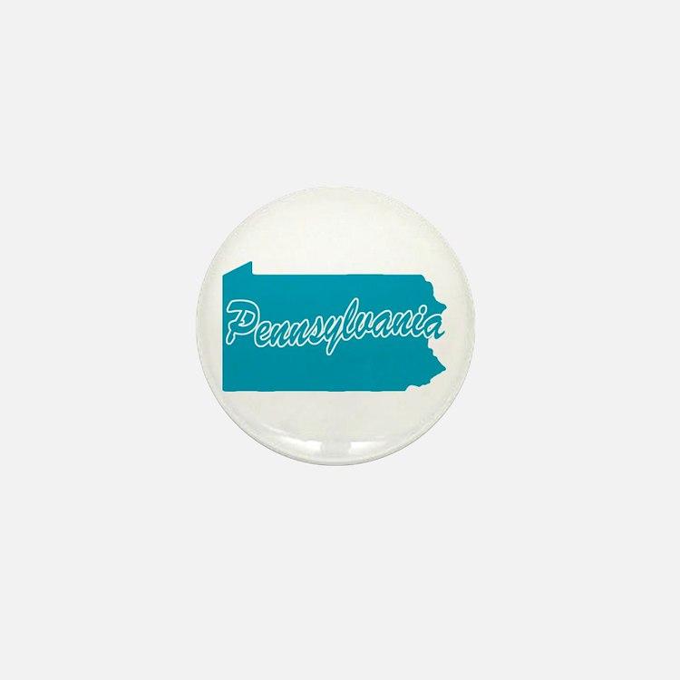 State Pennsylvania Mini Button