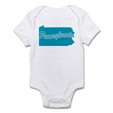 State Pennsylvania Infant Bodysuit