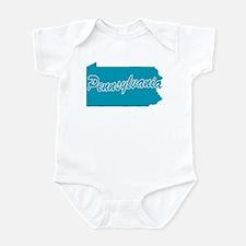 State Pennsylvania Infant Bodysuit