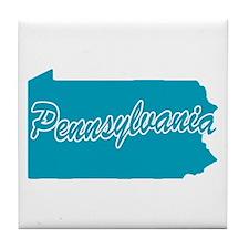 State Pennsylvania Tile Coaster
