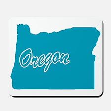 State Oregon Mousepad