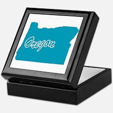 State Oregon Keepsake Box