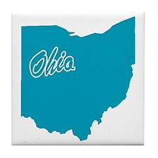 State Ohio Tile Coaster