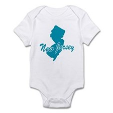 State New Jersey Infant Bodysuit