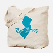 State New Jersey Tote Bag