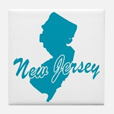 State New Jersey Tile Coaster