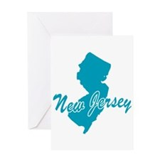 State New Jersey Greeting Card